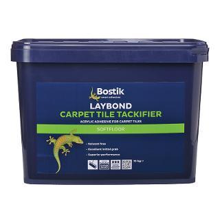 Bostik Laybond Carpet Tile Tackifier Adhesive 15kg Drum