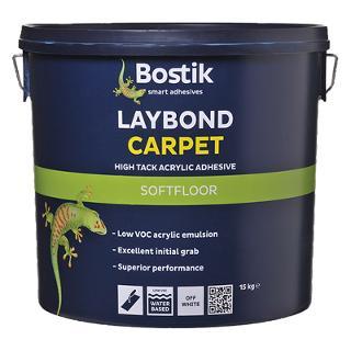 Bostik Laybond High Tack Carpet Adhesive 15kg Drum