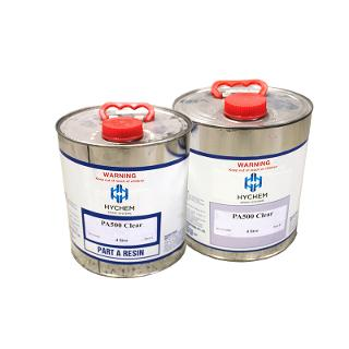 Hychem PA500 Fast Curing UV Stable Clear Coating