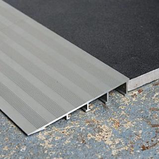 DTA Aluminium Ramp Transition Trim 12mm 3mtr Lengths