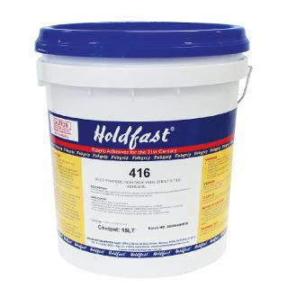 Holdfast 416 High Tack Adhesive 15ltr Drum