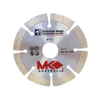 MK Diamond 4in [102mm] Crack Chaser Blade [6.35mm Wide]