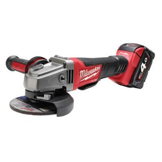 Milaukee M18 Heavy Duty Angle Grinder (DEADMAN Paddle Switch) 5.0 Ah Kit