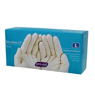 Disposable Gloves Powdered box of 100