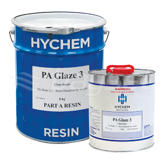 Hychem Epoxyglaze 3 UV Resistant Clear Top Coat